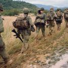 US troops 'in country' during the Vietnam War