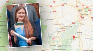 Young Irish woman Eimear Noonan died in France
