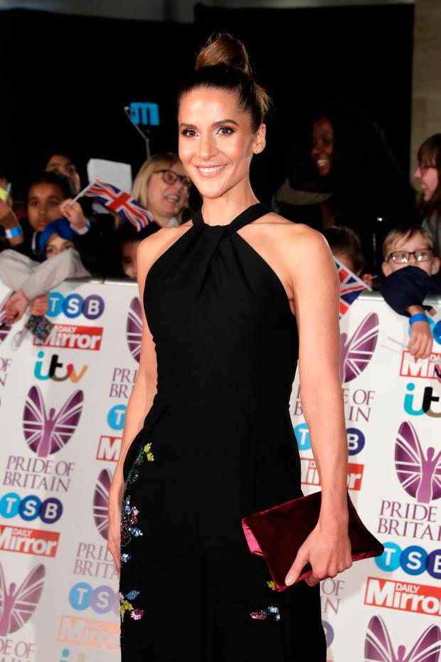 Amanda Byram attends the Pride Of Britain Awards at Grosvenor House, on October 30, 2017 in London, England. (Photo by John Phillips/Getty Images)