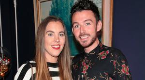 Sarah Hanrahan and Cathal Kenny at the Lidl Deluxe Christmas Showcase at 25 Fitzwilliam Place Dublin. Picture: Brian McEvoy