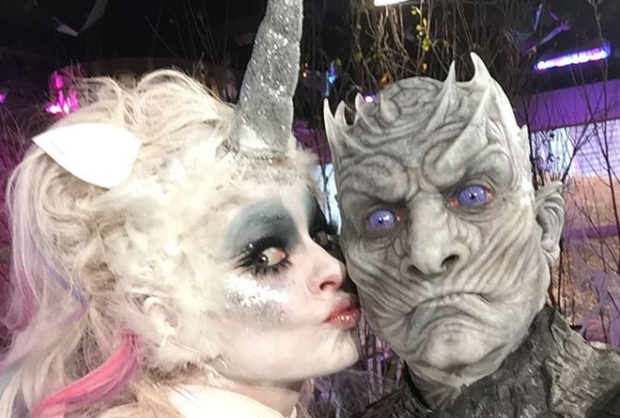 Last month, TV presenter Holly Willoughby (36) dressed up as a unicorn for a special Halloween edition of ITV's This Morning.