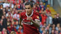 Coutinho is likely to stay until at least the end of the season. Getty