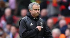 Mourinho has been openly courting PSG over the last few weeks. Getty