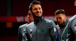 Republic of Ireland's Wes Hoolahan