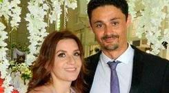 Renato Gehlen (right) is charged with murdering his wife Anne Colomines (left).