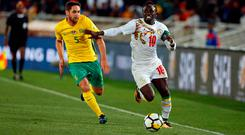 Sadio Mané has been released early from international duty. Photo: Reuters/Siphiwe Sibeko