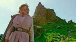 Image from a new behind-the-scenes teaser video for Star Wars: The Last Jedi