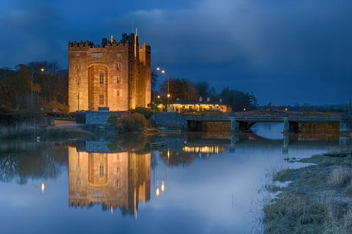 Bunratty Castle is included in the Shannon Free Zone
