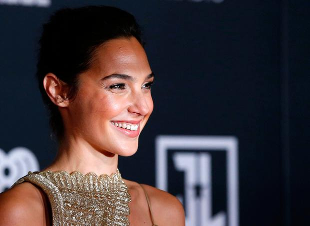 World Premiere of Warner Bros. Pictures' Justice League – Arrivals – Los Angeles, California, U.S., 13/11/2017 - Actress Gal Gadot. REUTERS/Mario Anzuoni