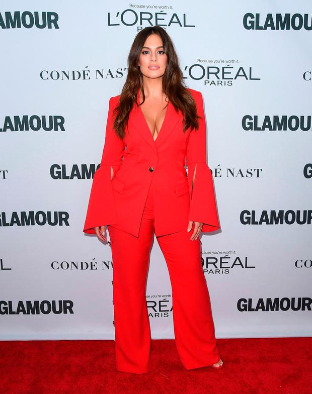 Model Ashley Graham attends Glamour's 2017 Women of The Year Awards at Kings Theatre on November 13, 2017 in Brooklyn, New York. / AFP PHOTO / ANGELA WEISSANGELA WEISS/AFP/Getty Images