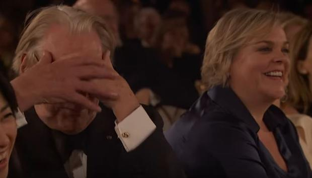Donald Sutherland's reaction to Colin Farrell's anecdote