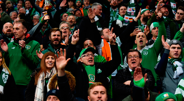 Do Irish football fans receive more joy from following the national team or the Premier League?