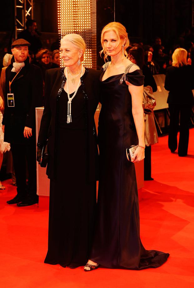 Vanessa Redgrave and Joely Richardson attend the Orange British Academy Film Awards 2010 at the Royal Opera House on February 21, 2010 in London, England. (Photo by Ian Gavan/Getty Images)