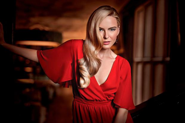 Irish model Sarah Morrissey for Great Lengths' 100% You campaign