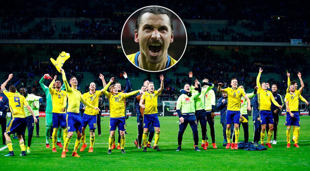 Sweden coach Janne Andersson unhappy with Zlatan Ibrahimovic questions