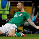 Republic of Ireland's Shane Duffy was a star turn in 2017