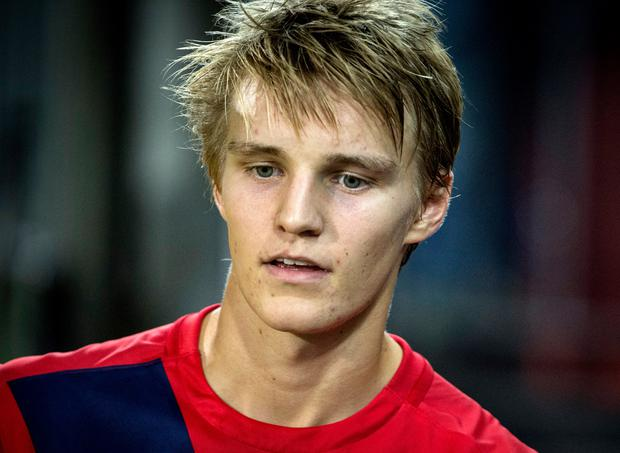Martin Odegaard of Norway. (Photo by Trond Tandberg/Getty Images)