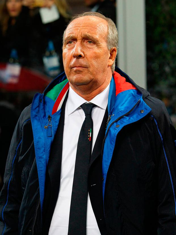 Italy coach Giampiero Ventura. Photo: Marco Luzzani/Getty Images