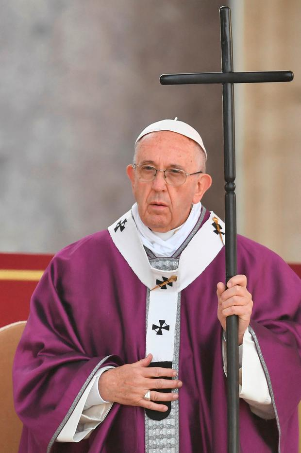 The Pope's itinerary remains unclear until the Vatican officially confirms the visit is going ahead. That confirmation is expected in January. Picture: AFP/Getty Images