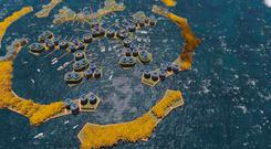 A proposed design for a floating city The Seasteading Institute and Simon Nummy