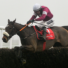A Toi Phil goes in the Clonmel Oil Chase today. Photo: Ramsey Cardy/Sportsfile