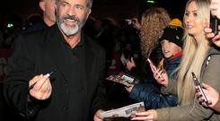 Mel Gibson at the Irish Premiere screening of 'Daddy's Home 2 at The Odeon Cinema in Point Square, Dublin. Pictures Brian McEvoy