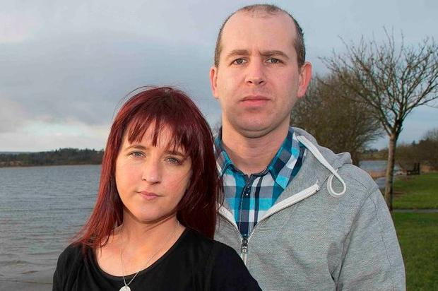 Warren and Lorraine Reilly, who lost babies Asha and Amber. Photo: Andrew Downes