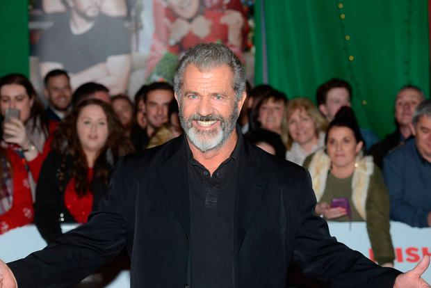 Mel Gibson attends the Daddy's Home 2 Irish premiere