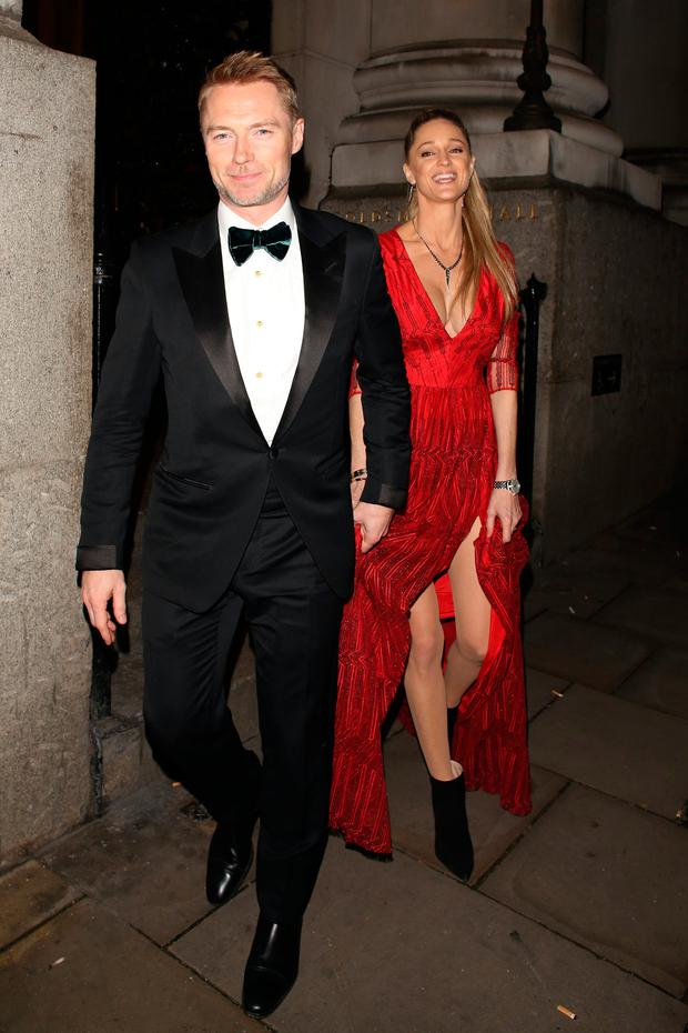 Ronan Keating and Storm Keating attending the The Leopard Awards in Aid of The Prince's Trust on November 15, 2017 in London, England. (Photo by Mark R. Milan/GC Images)