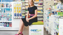 Niamh Lynch, commercial director of CarePlus pharmacy, pictured at one of the new CarePlus community pharmacies in Dublin