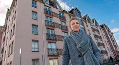 Aimee O'Riordan (26) admitted residents of the Leeside Apartments on Bachelor's Quay in Cork city centre were left