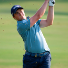 Paul Dunne shot an immaculate 67 to lie just two shots adrift of the lead. Photo: Getty Images