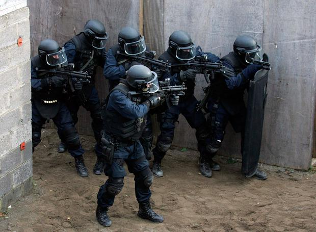 Irish troops are planning their response to terror attacks. Stock picture