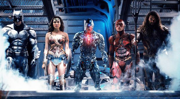 Dream team: Batman, Wonder Woman, Cyborg, The Flash and Aquaman unite to fight Steppenwolf