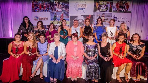 The 2017 camogie All-Stars.