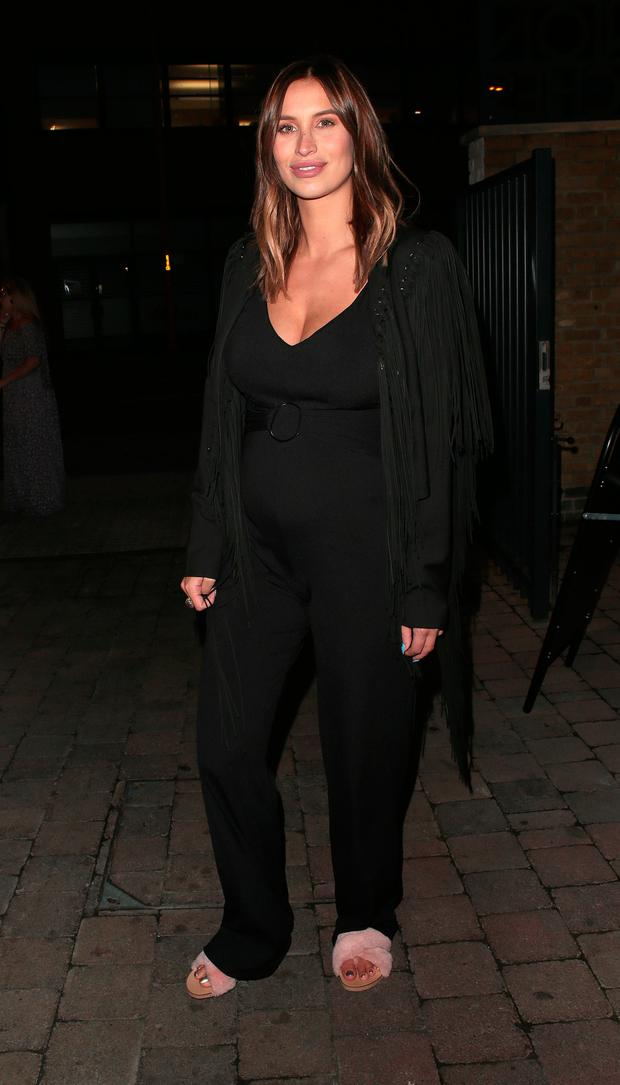 Ferne McCann attends The Savvy Mummy event at Union Theatre on August 21, 2017 in London, England. (Photo by Ricky Vigil M/GC Images)