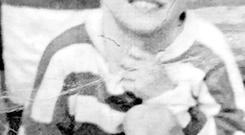 Undated family handout file photo of Francis Rowntree, as the killing of the boy shot by an army rubber bullet in Belfast in 1972 was not justified, a coroner has ruled. PRESS ASSOCIATION Photo.