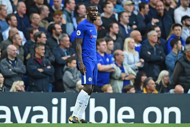 Chelsea Defender Antonio Rudiger (2) during the Premier League match between Chelsea and Manchester City at Stamford Bridge, London, England on 30 Sept 2016. (Photo by Kieran Galvin/NurPhoto via Getty Images)