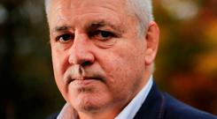 Warren Gatland. Photo: Gerry Mooney