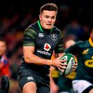 Jacob Stockdale. Photo by Brendan Moran/Sportsfile