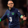 There is no apparent link between the style of football chosen by Martin O'Neill and that of Ireland's underage teams. Photo: Sportsfile