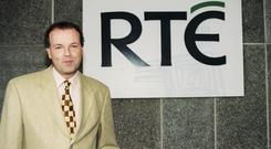 Meteorologist and RTÉ weather presenter Gerald Fleming (1999)