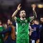 Shane Duffy of Republic of Ireland following the FIFA World Cup Group D Qualifier match between Austria and Republic of Ireland at the Ernst Happel Stadium in Vienna, Austria. Photo by Stephen McCarthy/Sportsfile