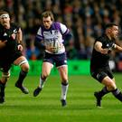 Rugby Union - Autumn Internationals - Scotland vs New Zealand - BT Murrayfield Stadium, Edinburgh, Britain - November 18, 2017 Scotland's Stuart Hogg in action REUTERS/Russell Cheyne