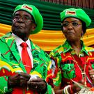 A dynasty thwarted: Robert and Grace Mugabe. Photo: Reuters