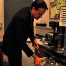 Taoiseach Leo Varadkar loads a dishwasher in a picture he shared on social media.