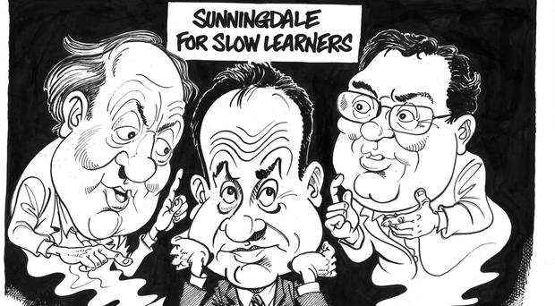 'Sunningdale for Slow Learners'