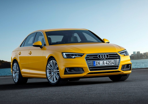 In demand: Premium cars such as the Audi A4 are among the most popular imports from the UK