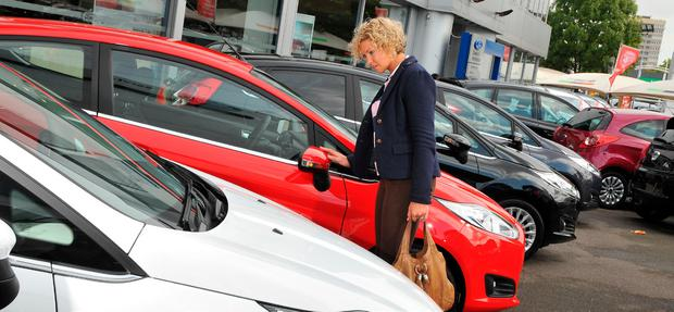 Bargain hunting: Dealers are in a generous mood at this time of year ahead of the 181 buying season