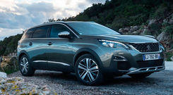 Change of direction: Peugeot's 5008 has gone from an MPV to SUV